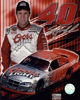 2005 Sterling Marlin collage- car, number, driver and signature Fine-Art Print