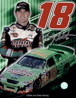 2005 Bobby Labonte collage- car, number, driver and signature Fine-Art Print