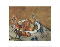 The Plate of Apples, c. 1897 Fine-Art Print