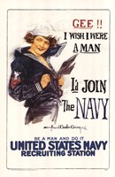 I'd Join the Navy Fine-Art Print
