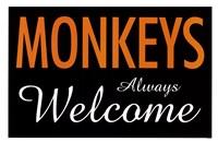 Monkeys Always Welcome Fine-Art Print