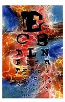 Psychedelic Eye Chart Fine-Art Print