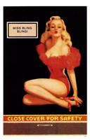 Miss Bling Bling Pin-Up Fine-Art Print