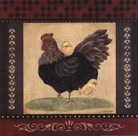 Cottage Hen Fine-Art Print