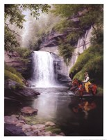 Looking Glass Falls Fine-Art Print