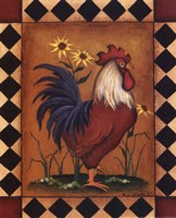 Red Rooster II Fine-Art Print