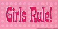 Girls Rule! Fine-Art Print