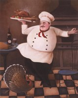 Turkey Chef II Fine-Art Print