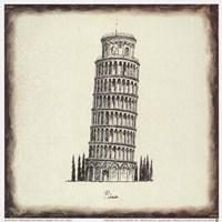 Pisa Tile Fine-Art Print