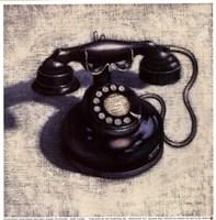 Telephone - Noir Fine-Art Print