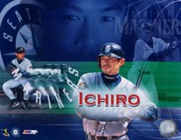 Ichiro Suzuki - Composite (Horizontal) Fine-Art Print