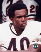 Gale Sayers - Close up, sidelines Fine-Art Print