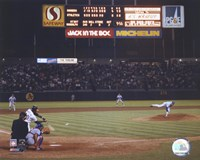 Nolan Ryan - 6th No Hitter (Last Pitch) Fine-Art Print