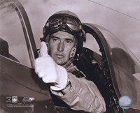 Ted Williams - Fighter Pilot (sepia) Fine-Art Print
