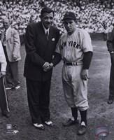 Babe Ruth/Yogi Berra Fine-Art Print