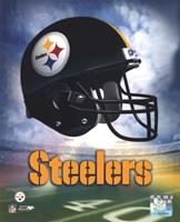Pittsburgh Steelers Helmet Logo Fine-Art Print