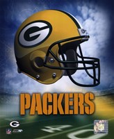 Green Bay Packers Helmet Logo Fine-Art Print