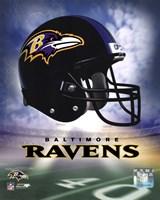 Ravens Helmet Logo ('04) Fine-Art Print