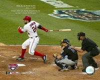 4/14/05 - Nick Johnson / 1st Hit At RFK Stadium In More Than 33 Years Fine-Art Print