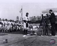 Lou Gehrig - Farewell (Horizontal) Fine-Art Print