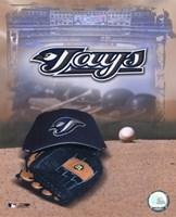 Toronto Blue Jays - '05 Logo / Cap and Glove Fine-Art Print