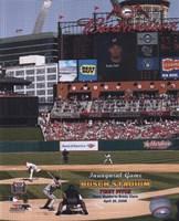 Busch Stadium - 04/10/06 First Pitch Fine-Art Print