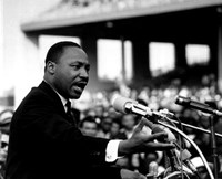 Rev. Dr. Martin Luther King Jr. Speaking (#8) Fine-Art Print