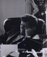 President John F. Kennedy in the Oval Office (#7) Fine-Art Print