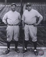 Lou Gehrig / Babe Ruth - Full Body / Pinstripes Fine-Art Print