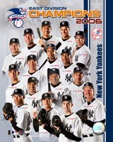 2006 - Yankees East Division Champs Team Composite Fine-Art Print