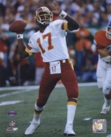 Doug Williams Super Bowl XXII 1988 Passing Action Fine-Art Print