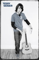 Teddy Geiger Wall Poster
