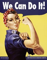 We Can Do It - Rosie The Riveter Fine-Art Print