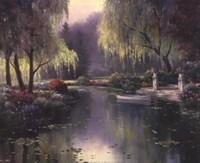 Willow Park Lake Fine-Art Print