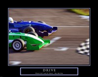 Drive-Race Car Fine-Art Print