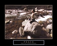 Peace - Yoga Fine-Art Print