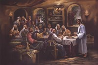 Black Last Supper Fine-Art Print
