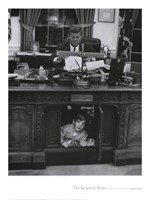 Jfk And John Jr, 1963 Fine-Art Print