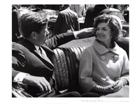 Jfk And Jacqueline, 1961 Fine-Art Print