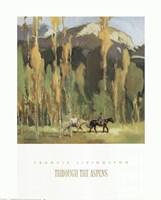 Through The Aspens Fine-Art Print