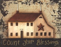 Count Your Saltbox Blessings Fine-Art Print