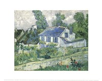 Houses at Auvers, c.1890 Fine-Art Print