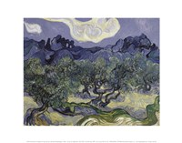 The Olive Trees, 1889 Fine-Art Print