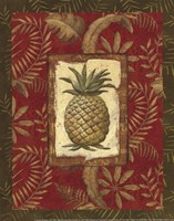 Exotica Pineapple - Mini Fine-Art Print