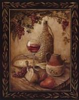 Tuscan Table - Chianti - Mini Fine-Art Print