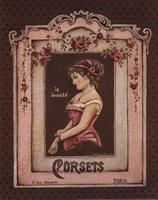 Corsets II - Mini Fine-Art Print