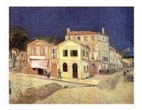 The Yellow House, Arles, c.1888 Fine-Art Print