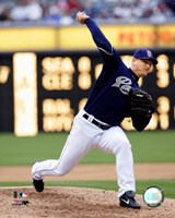 Trevor Hoffman - 2007 Pitching Action Fine-Art Print