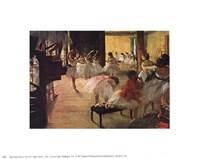 Ballet School, c. 1876 Fine-Art Print