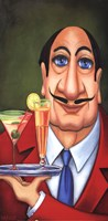 Sirio the Waiter Fine-Art Print
